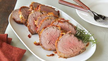 Pancetta-Wrapped Beef Tenderloin