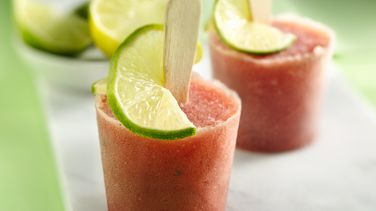 Watermelon Mojito Cocktail Paletas