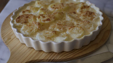 Gratin Potatoes in White Sauce