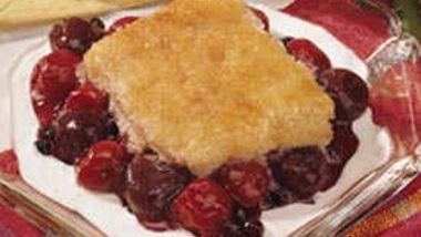 Cherry-Berry Cobbler