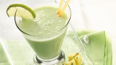 Key Lime-Banana Smoothies
