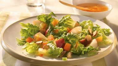 Apple-Almond Tossed Salad