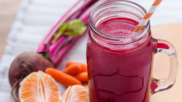 Beet, Carrot and Mandarin Juice