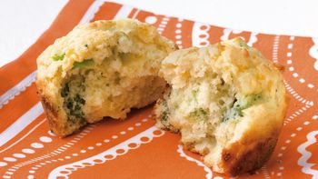 Broccoli-Cheese Muffins