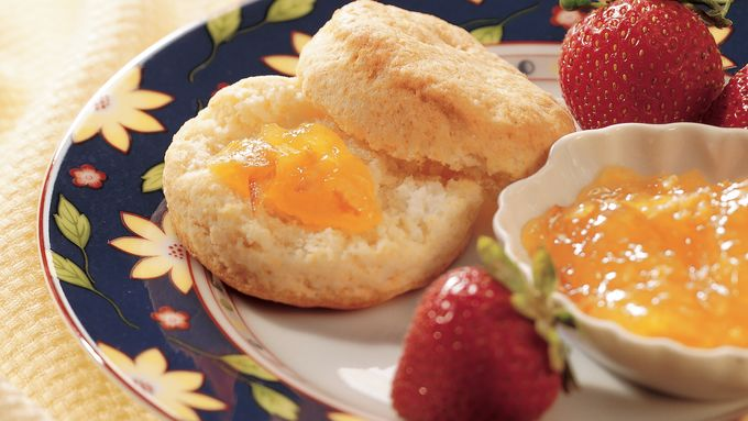 Whipped Cream Biscuits