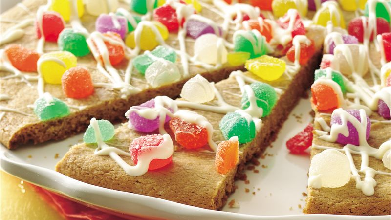 Gumdrop Cookie Pizza
