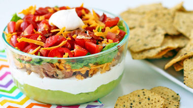 Layered California BLT Dip