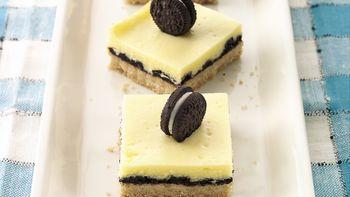 Oreo™ Cookie-Cheesecake Bars