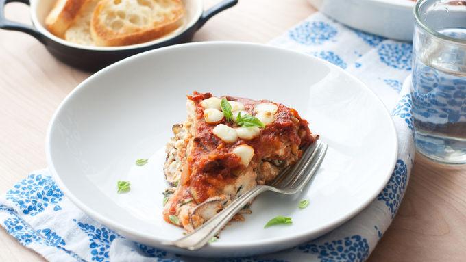 Noodle-less Eggplant Lasagna