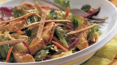 Grilled Chicken Satay Salad