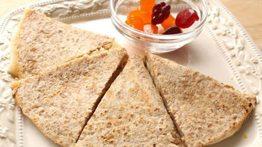 Cheese and Apple Sauce Quesadilla