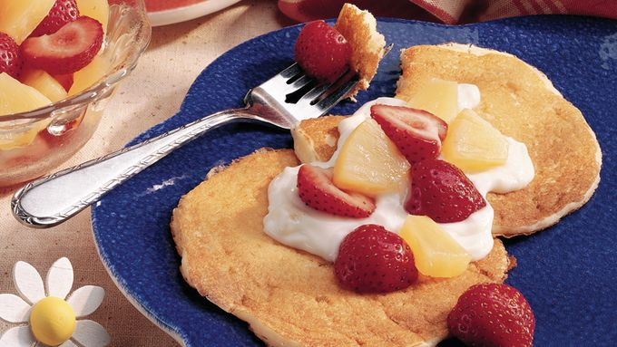 Fruity Yogurt Pancakes