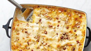 Butternut Squash, Hazelnut and Fontina Lasagna