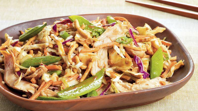 Crunchy Sesame Chicken Salad