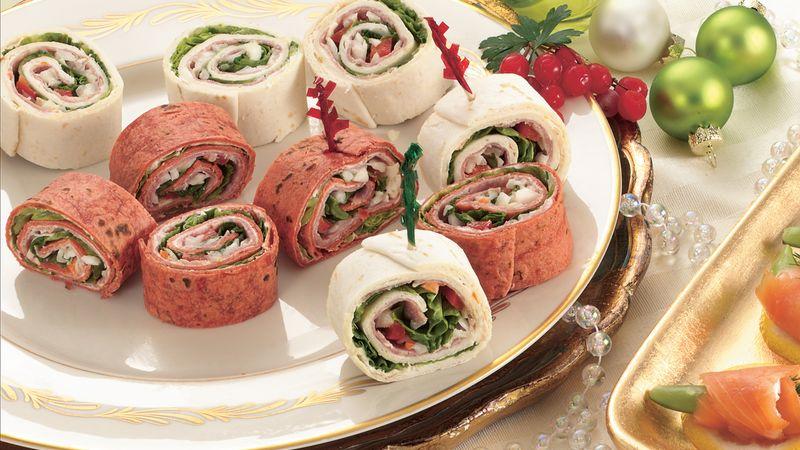 Salami Veggie Roll-Ups