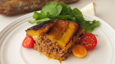 Pastelón Lasagna de Puerto Rico