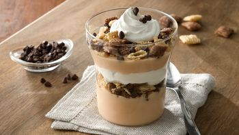 Chocolate Pumpkin Pie Yogurt Parfait