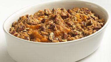 Skinny Sweet Potato Casserole