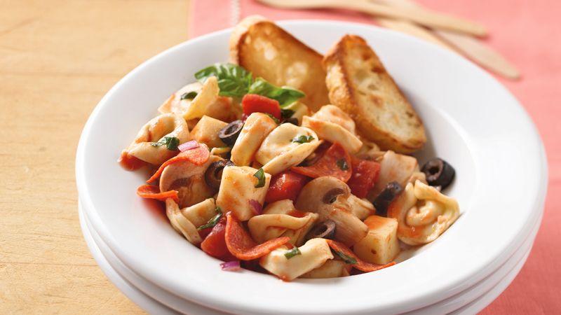 Bruschetta-Style Tortellini Salad