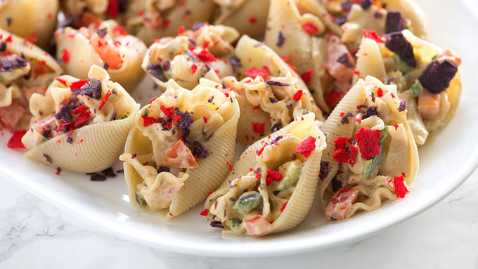 Mexican Pasta-Stuffed Shells