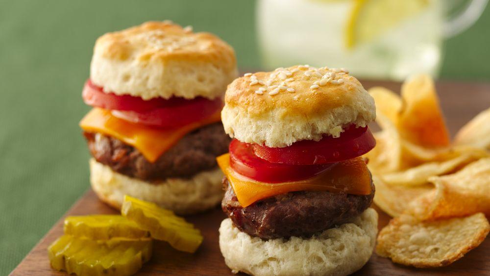 Beef Biscuit Sliders