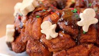 Gingerbread Monkey Bread