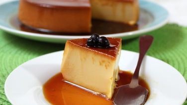 Goat Cheese Flan