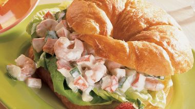 Seafood Cucumber Sandwiches