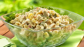 Lemon-Chicken Pasta Salad