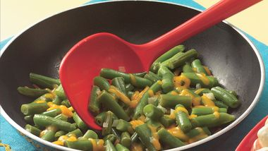 Cheesy Green Beans