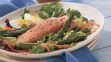 Salmon and Asparagus Salad