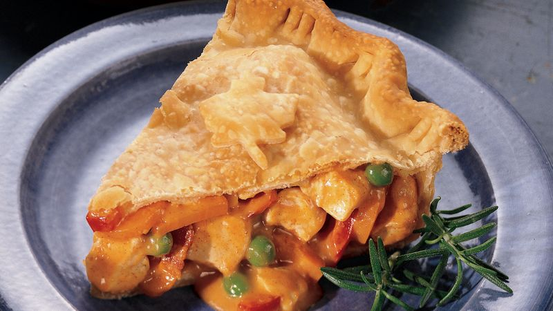 Chicken Paprikash Pot Pie