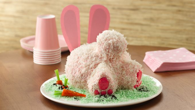 Skinny Bunny Butt Cake