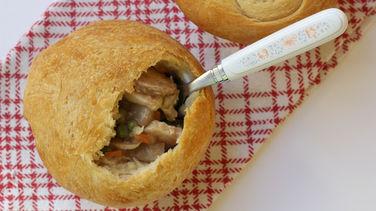 Chicken Marsala Pie