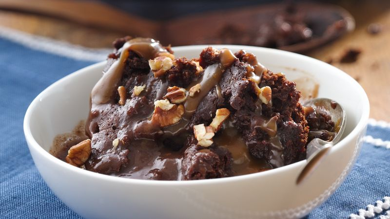 Slow-Cooker Turtle Pudding