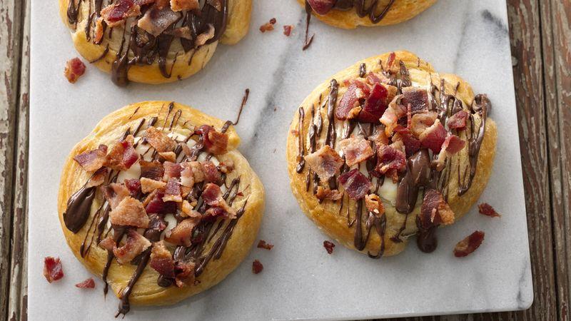 Mocha Latte Bacon Danish