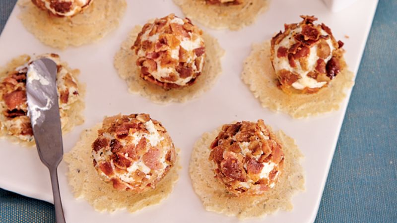Bacon-Ranch Cheese Balls
