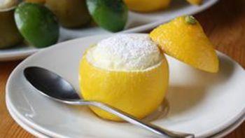Lemon-Lime Souffles