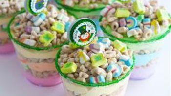 Rainbow Dessert Shooters