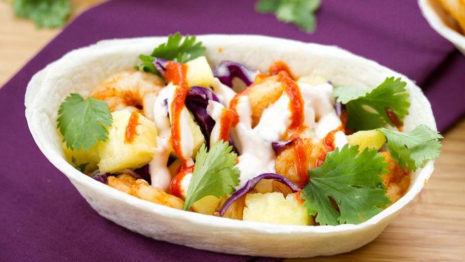 Skinny Shrimp Ten Minute Taco Boats™