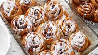 Cinnamon and Pear Rolls