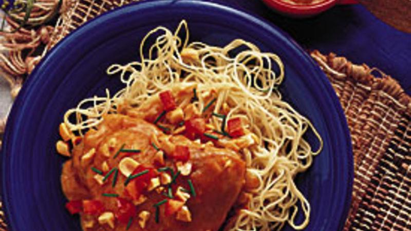 Peanut Butter-Chili Chicken