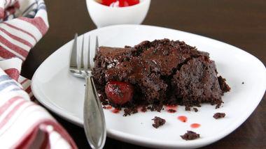 Cherry-Cola Dump Cake