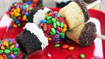 Cupcake Kabobs