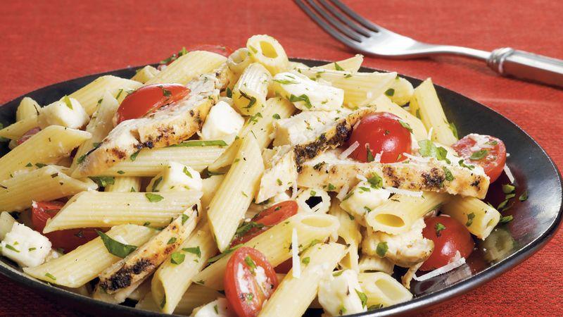 Chicken and Fresh Mozzarella Pasta