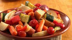 Vegetales horneados