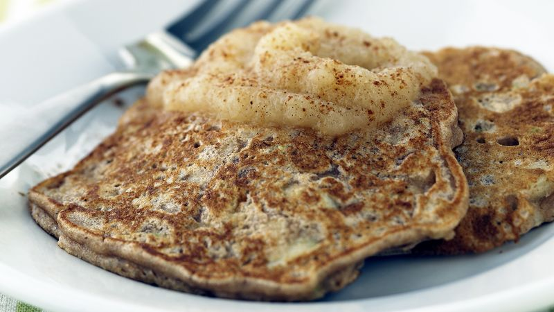 Skinny Apple Griddle Cakes
