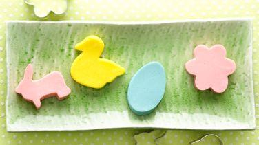 Spring Pastel Gelatin Cutouts