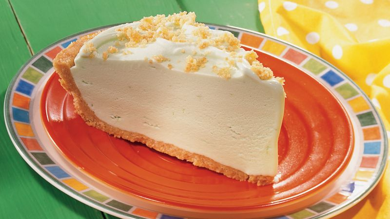 Tropical Lime Ice Cream Pie