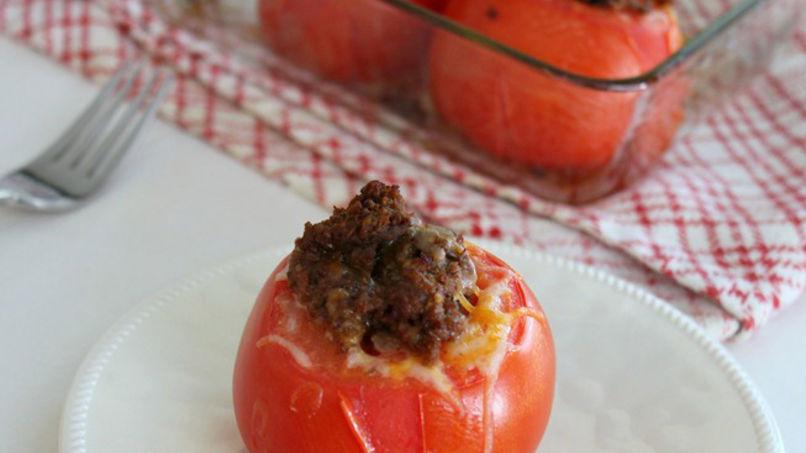 Tomates Rellenos de Carne Molida